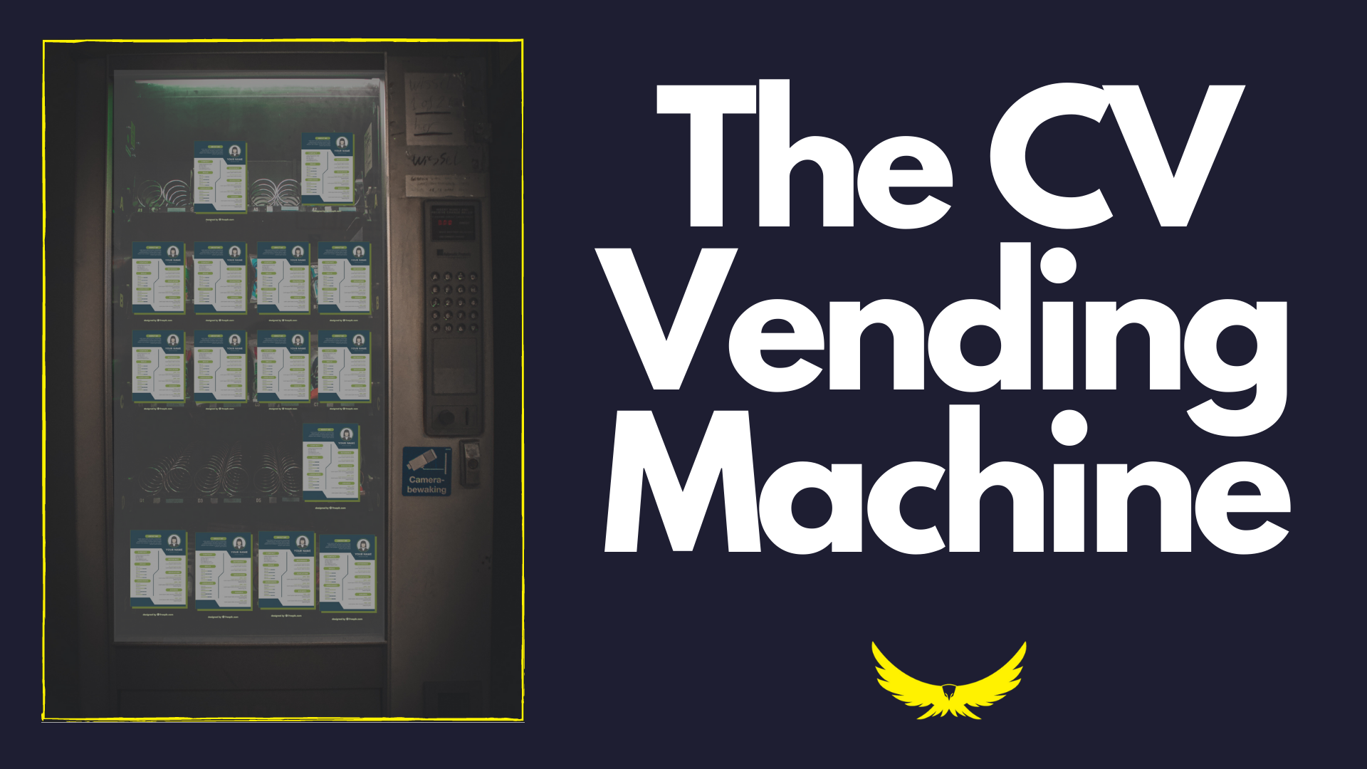THE CV VENDING MACHINE
